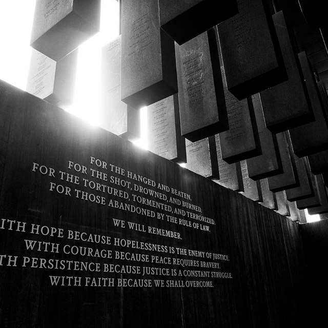 Montgomery: National Memorial for Peace and Justice