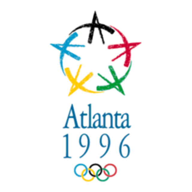 Five A's logo and supporting graphics – used in Atlanta's successful bid for the 1996 Olympic games
